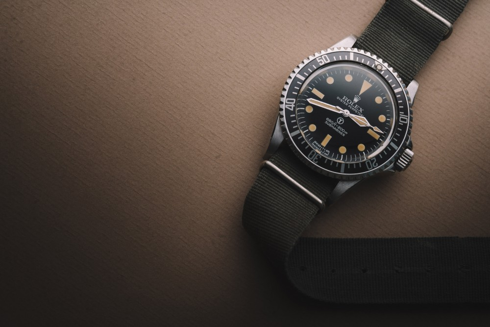 NY AUCTION HIGHLIGHT (Lot 48)  The Rolex Milsub Ref. 5513